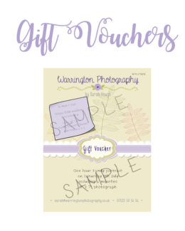 Warrington photography gift voucher