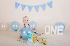 cake smash photography cheshire